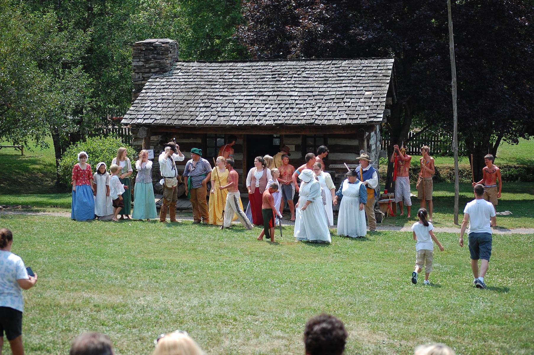 Colonial-Reenactment