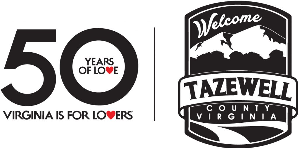 Virginia is for Lovers and Tazewell County logos